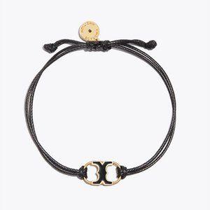 Tory Burch Black on Black Embrace Bracelet
